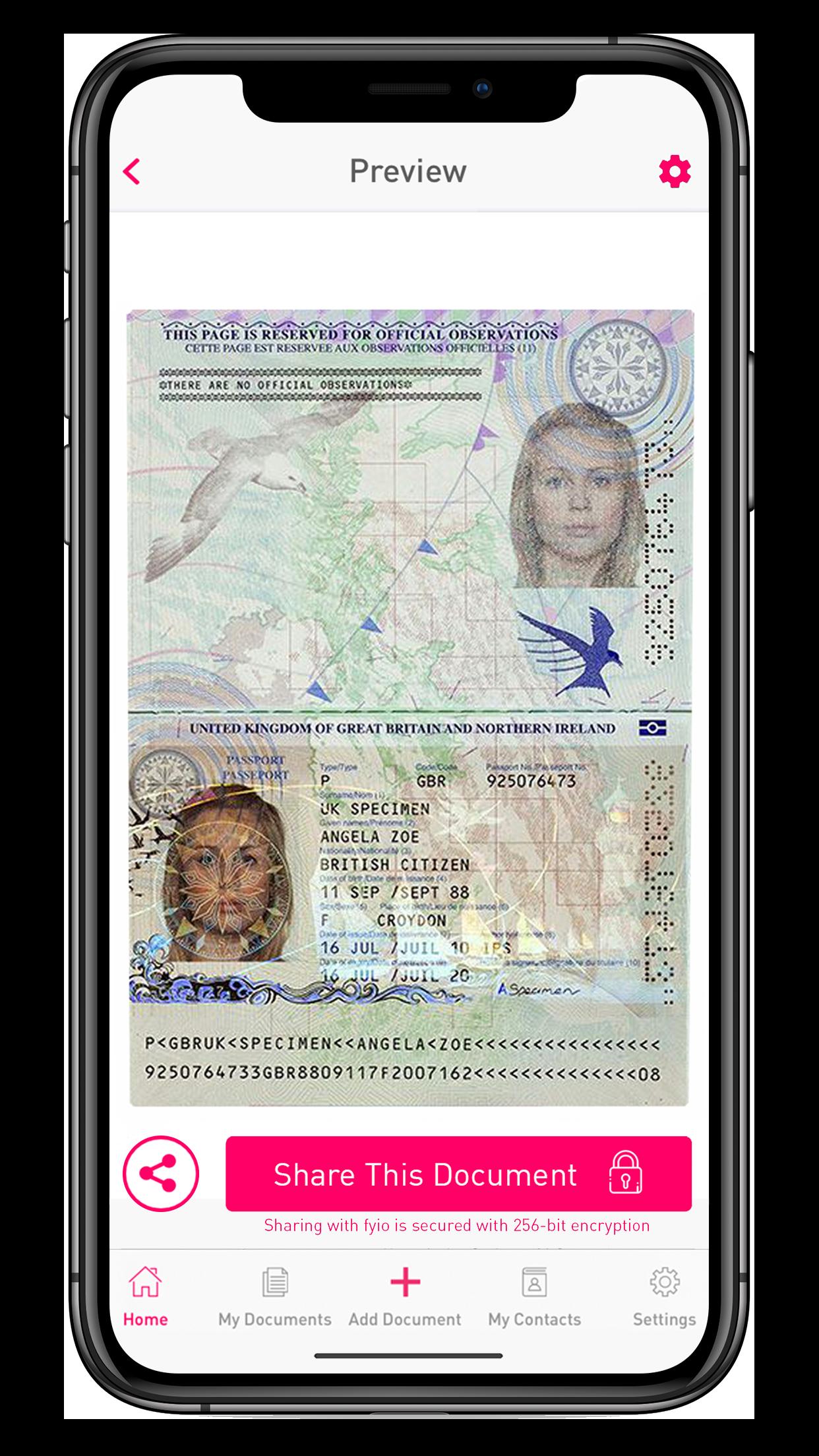 View Document Passport